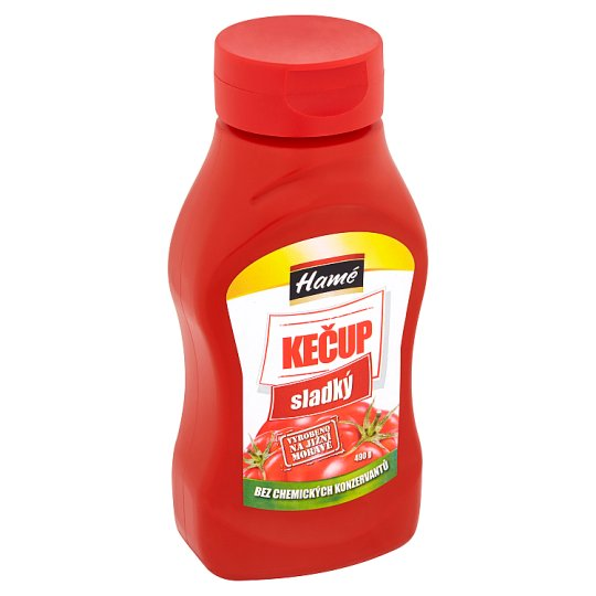 Hamé Kečup sladký 490g