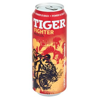 Tiger Fighter Muscles energetický nápoj 500ml