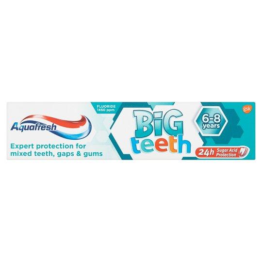 Aquafresh Big Teeth zubní pasta 50ml