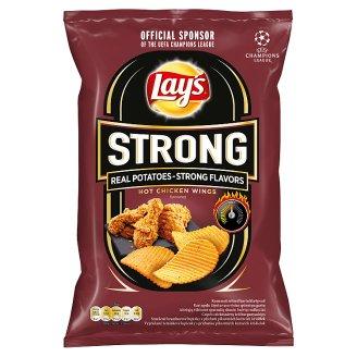 Lay's Strong Smažené bramborové lupínky s příchutí pikantních kuřecích křidélek 70g