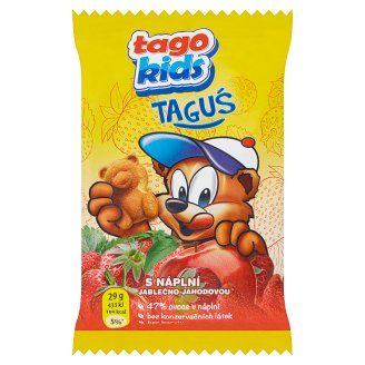 Tago Kids Taguś Pastry with Apple-Strawberry Filling 29g