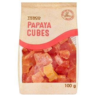Tesco Papaya Cubes 100g