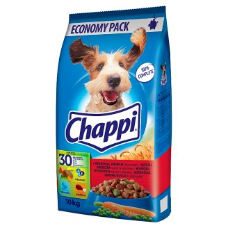Chappi with Beef, Poultry Meat and Vegetables 10kg