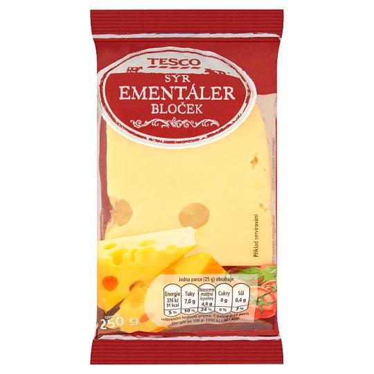 Tesco Ementaler Cheese Block 45 % 250g