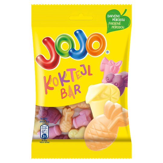 JOJO Koktejl bar 80g