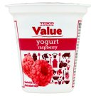 Tesco Value Yogurt Raspberry 125g
