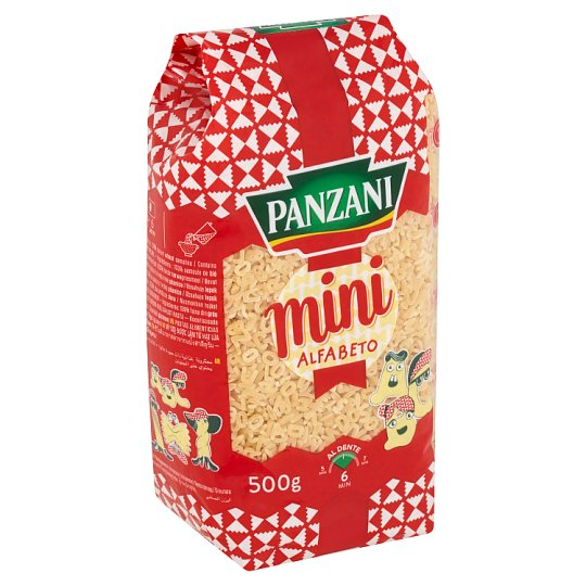 Panzani Mini Alfabeto 500g