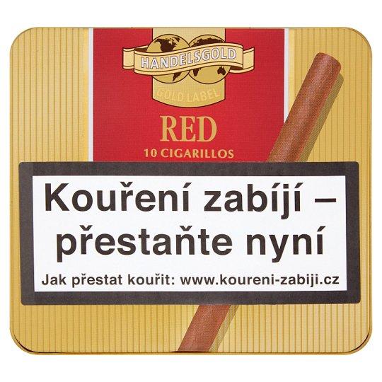 Handelsgold Red doutníčky 10 ks