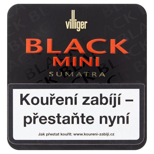 Villiger Black Mini Sumatra Small Cigars 20 pcs
