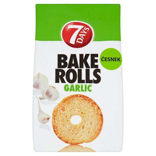 7 Days Bake Rolls česnek 80g