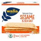 Wasa Delicate Crisps Sesame & Sea Salt 190g