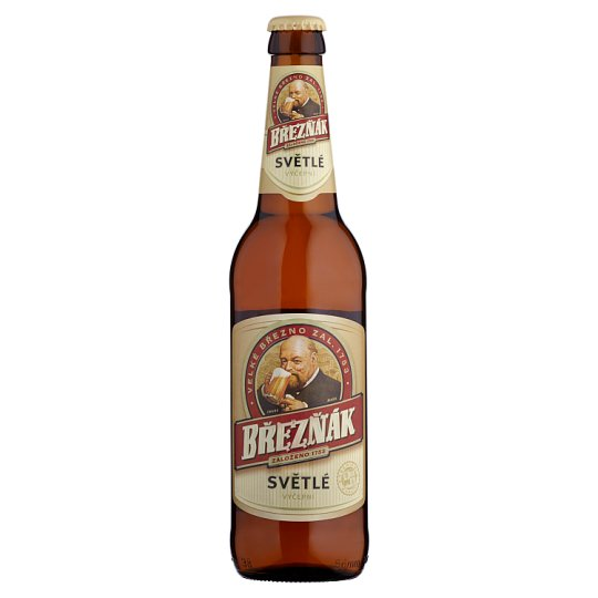Březňák Pale Draft Beer 0.5L