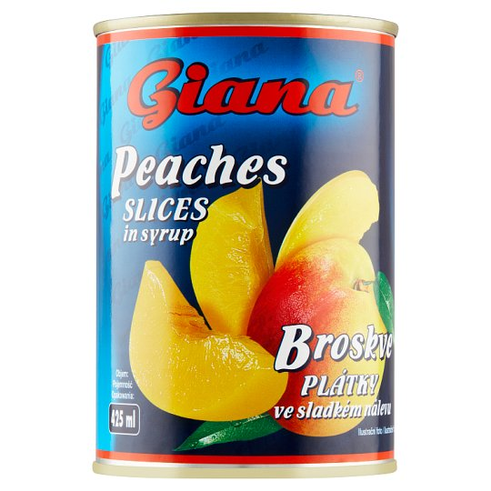 Giana Peaches Slices in Syrup 410g