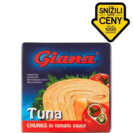 Giana Tuňák kousky v rajčatové omáčce 80g