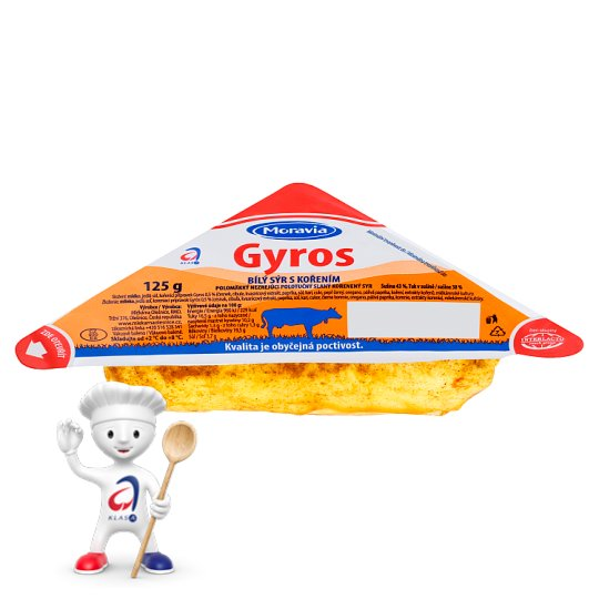 Moravia Gyros Spicy White Cheese 125g