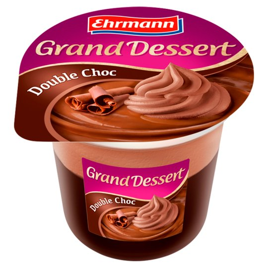Ehrmann Grand Dessert Double Choc 190g