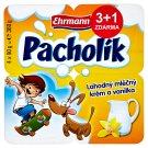 Ehrmann Pacholík Milk Cream and Vanilla 4 x 90g