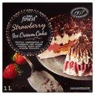 Tesco Finest Mražený krém jahodový s vanilkovou příchutí a čokoládovou polevou 1l