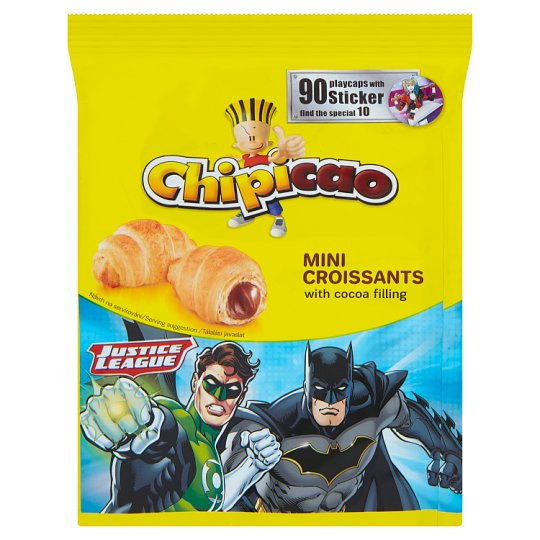 Chipicao Mini Croissants with Cocoa Filling 60g