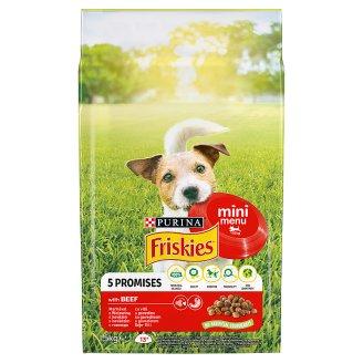 Friskies pro malé dospělé psy Mini Menu s hovězím 1,5kg