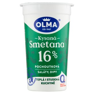 Olma Delicacy Sour Cream 16% 200g