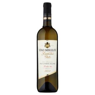 Víno Mikulov Sommelier Club Veltlínské zelené víno s přívlastkem pozdní sběr suché bílé 0,75l
