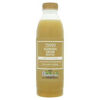 Tesco Glorious Green Smoothie 750ml