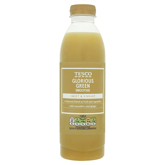 Tesco Glorious Green Smoothie 750ml