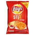 Lay's Stix Smažené bramborové lupínky s příchutí kečupu 140g