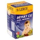 Leros Baby Child's Herbal Tea Coughs, Bronchi 20 x 1.5g