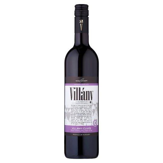 Wine Concept Villány Villányi Cuveé červené víno 0,75l