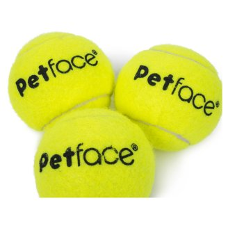 Petface Throw & Fetch tenisové míčky 3 ks