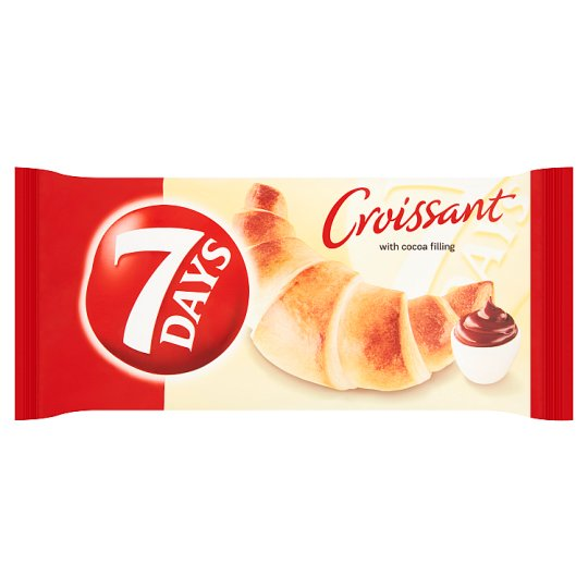 7 Days Croissant with Cocoa Filling 60g