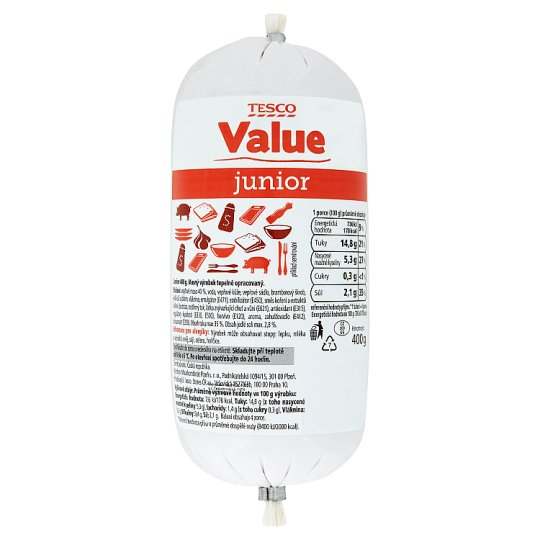 Tesco Value Junior 400g
