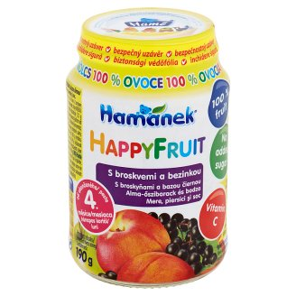 Hamánek Happy Fruit with Peaches and Elderberry 190g
