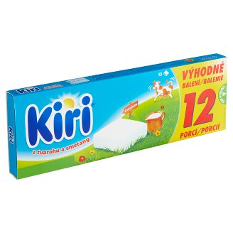 Kiri Processed Cheese from Curd and Cream 12 pcs 200g