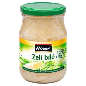 Hamé Zelí bílé sterilované v kořeněném sladkokyselém nálevu 320g