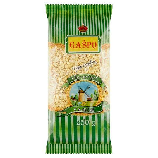 Gašpo Těstoviny vaječné polévkové drobení 250g