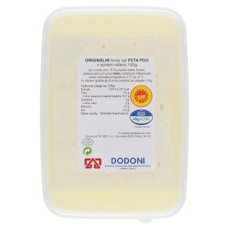 Dodoni Original Greek Feta Cheese in Brine 150g