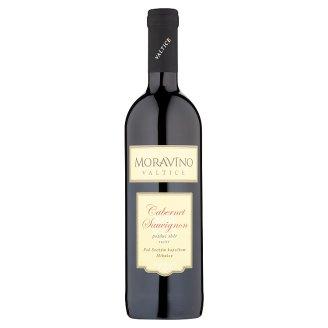Moravíno Valtice Cabernet Sauvignon jakostní víno s přívlastkem pozdní sběr červené suché 0,75l