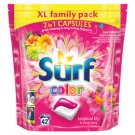 Surf Color Tropical Washing Duo-Capsules for Colorful Laundry 42 Washes