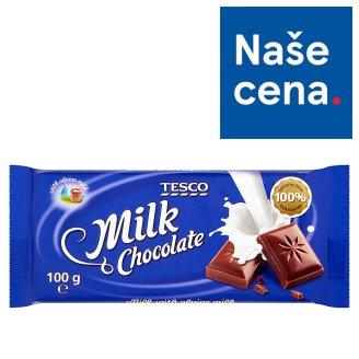 Tesco Mléčná čokoláda 100g