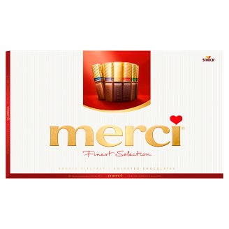 Merci 8 Kinds of Selected Chocolate Specialties 400g