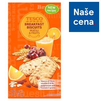 Tesco Breakfast Biscuits Cereals & Fruits 6 x 50g
