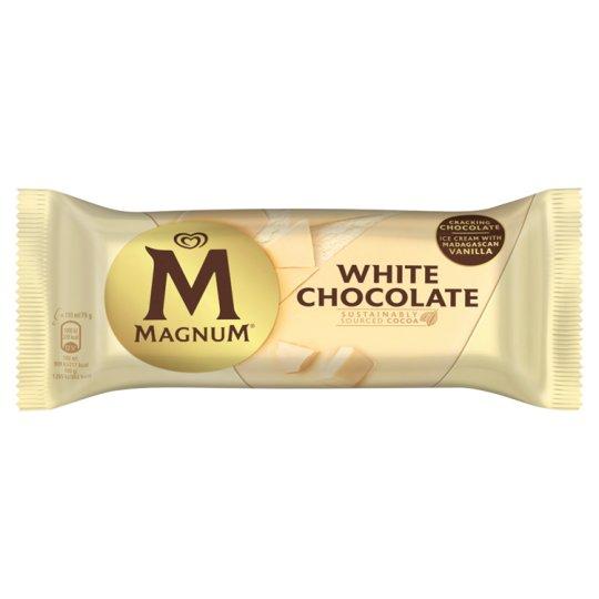 Magnum White Ice Cream 120ml
