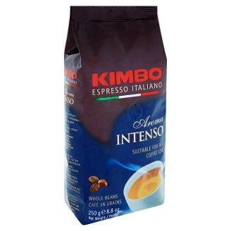 Kimbo Aroma Intenso pražená zrnková káva 250g