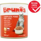 Brunos Complete Food for Cats with Poultry and Beef 830g