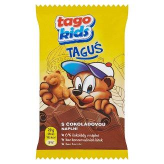 Tago Kids Taguś with Chocolate Filling 29g