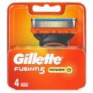 Gillette Fusion Power Náhradní Hlavice K Holicímu Strojku – 4 Ks