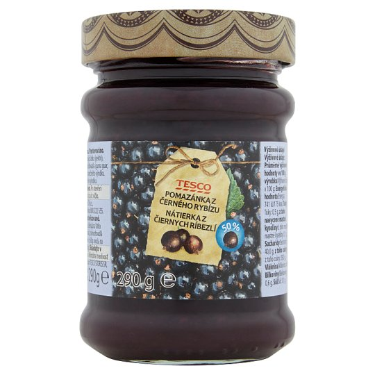 Tesco Black Currant Spread 290g